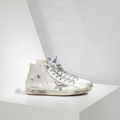 Golden Goose Deluxe Brand Francy Sneakers In Leather And Suede Star