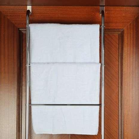 Overdoor Towel Rail | Dunelm