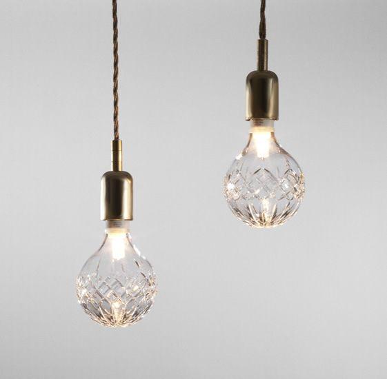 crystal lightbulb : lee broom