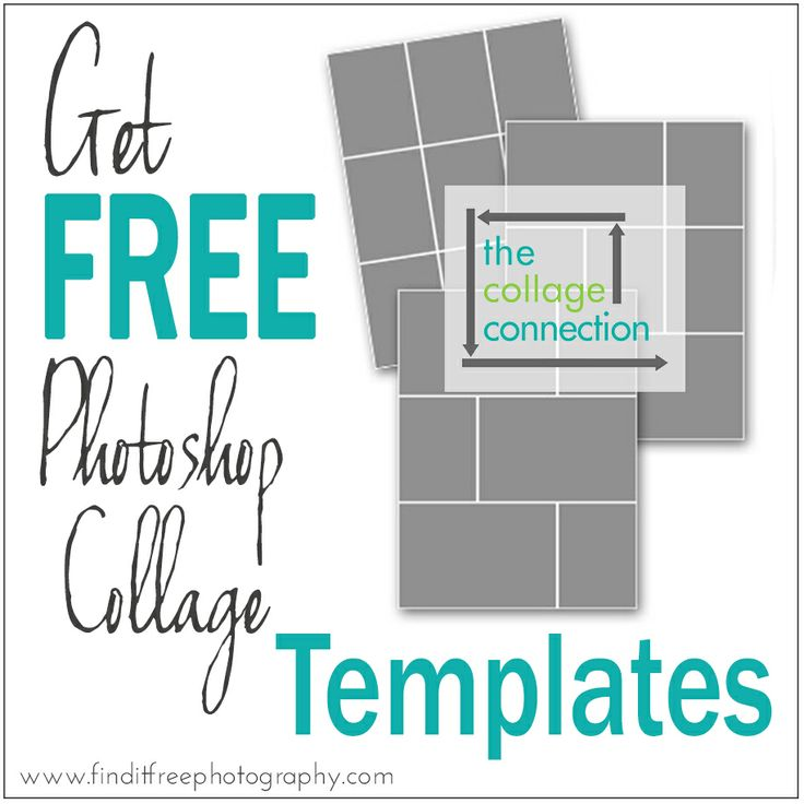 5 Free Photoshop Collage Templates From The Collage