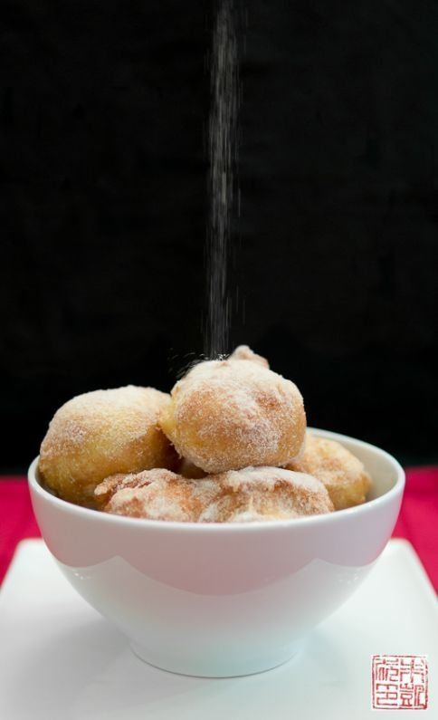 Chinese Sugar Egg Puffs (Sai Yong): Easiest Donuts Ever @FoodBlogs