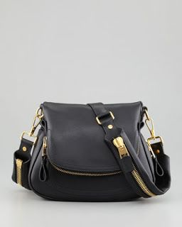 TOM FORD - Black Purse : love this black shoulder bag. Side bags are the perfect accessorie add to boyfriend jeans, booties and a great sweater! #sidebag