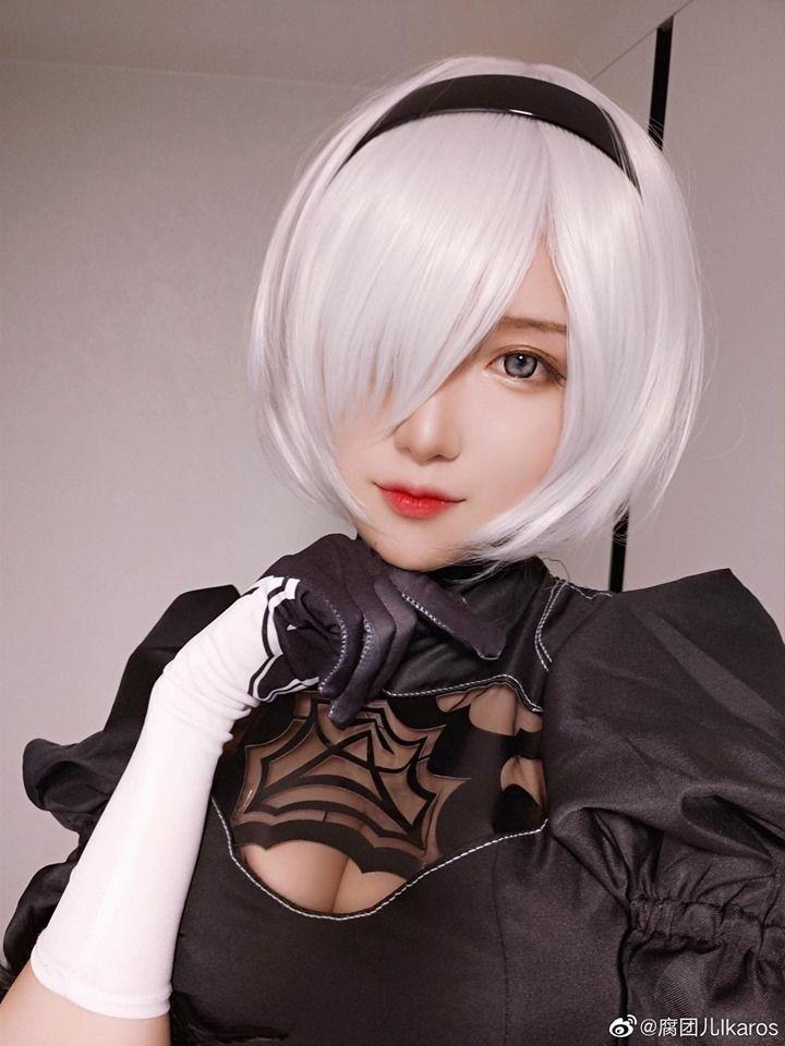 Nier Automata Cosplay Makeup Tutorial Hd-easyporn 1