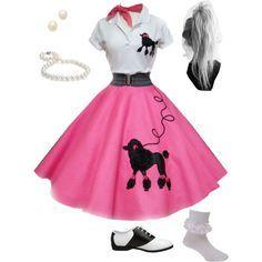 1950's Halloween Costume - Poodle Skirt