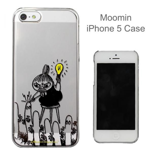 Moomin Character Clear iPhone 5/iPhone 5s Case (Little My/ Light) - Click Image to Close