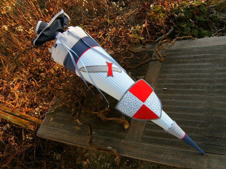 Schultüte Ritter von lisifrey auf DaWanda.com