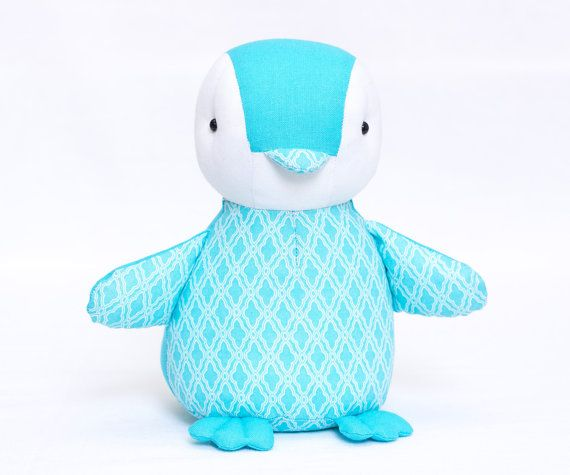 Baby Penguin Sewing Pattern and Tutorial Style Sewing Instruction Stuffed Soft Plush Toy Animal Instant Download PDF Sewing Gift for Kids. Make
