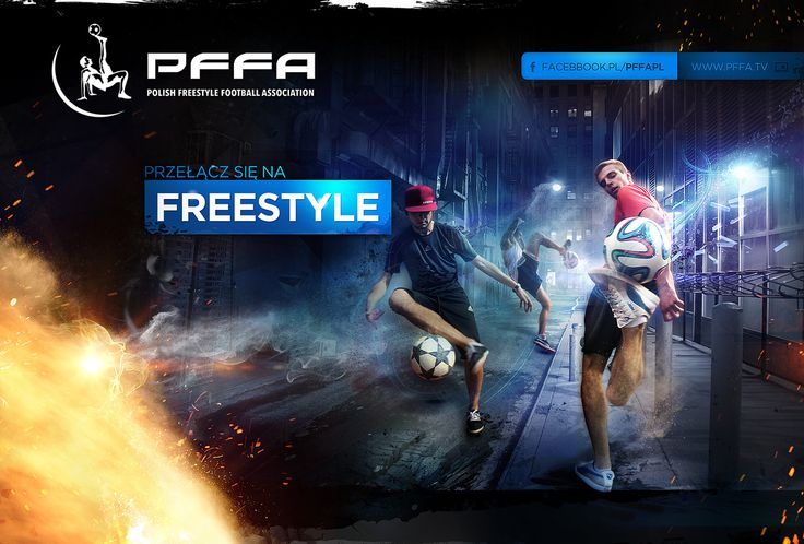 PFFA  - POLISH FREESTYLE FOOTBALL ASSOCIATION advertising (www.pffa.pl)   Agency: Creativehead.info, Artist: Hubert Paderski (webdesigner1921) Facebook profile: www.facebook.com/creativehead.info    Date realization work: 2014  -------------------------------- It is prohibited to copy or use in any form this project. Design protected by copyright. It is prohibited to copy pages, graphic, components and code.