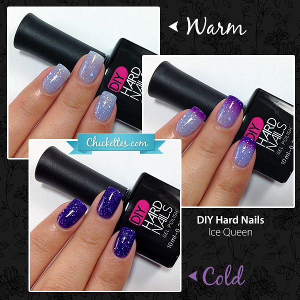 Color Changing Gel Polish - Ice Queen - Giveaway on Chickettes gel polish blog! International :)