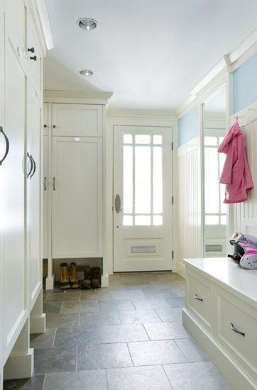 Locker style with open storage underneath