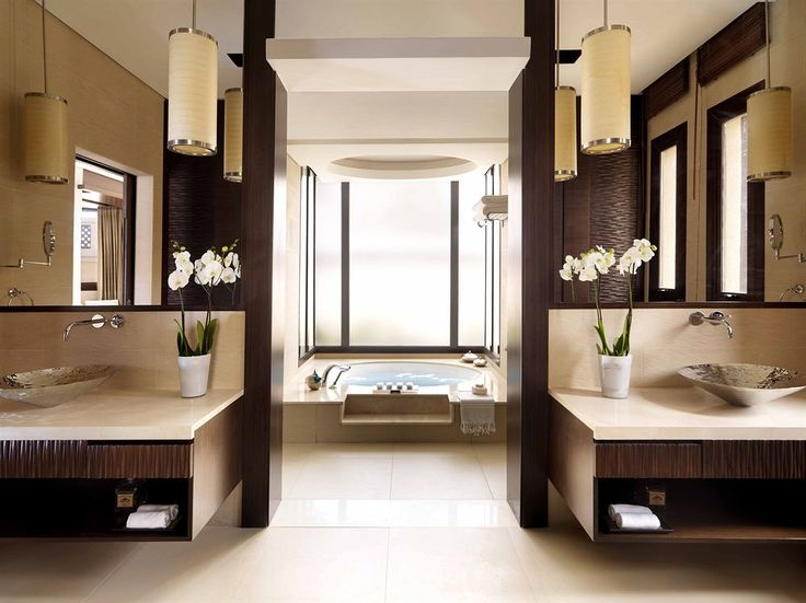 Bathroom of Guestroom in the Anantara - The Palm Dubai Resort, Dubai, United Arab Emirates