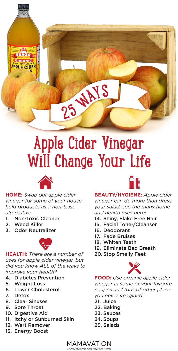 many uses for apple cider vinegar