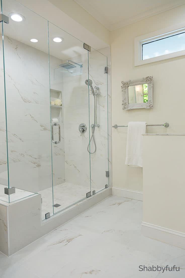 Budget Bathroom Ideas Luxury Hotel Look Budget Bathroom Remodel Bathroom Makeover Master Bathroom Renovation