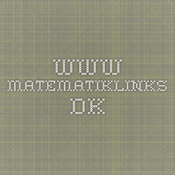 www.matematiklinks.dk