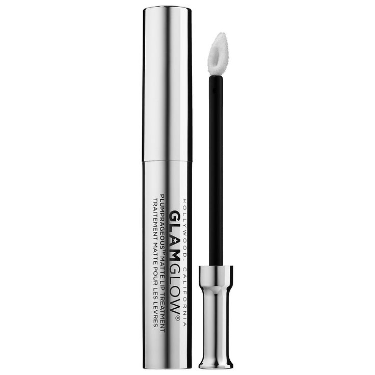 Store GLAMGLOW's PLUMPRAGEOUS Matte Lip Therapy at Sephora. The priming lip plu…