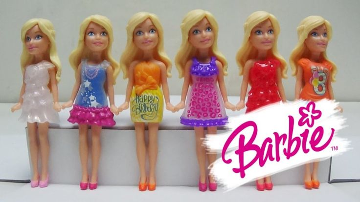 Barbie Birthday Series - Barbie Mini Doll Series Colection Toy Elsa Froz...
