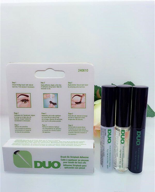 7c3fd519b92 DUO Brush On Strip lash Adhesive Clear/White/Dark Tone 5g UK Seller#lash# Adhesive#Strip