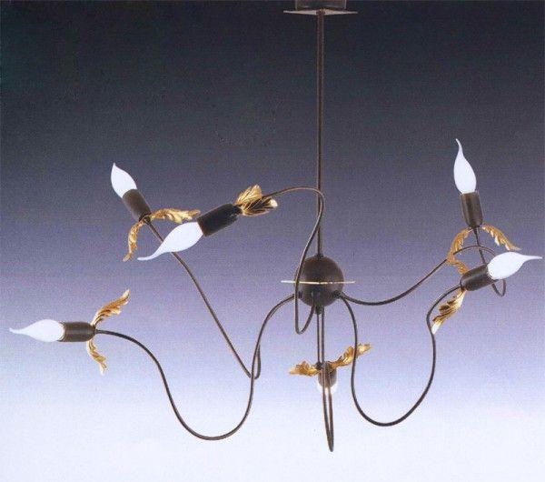 The soft shape of flower inspire this elegant pendent lamp. #florenzlamp #pendant