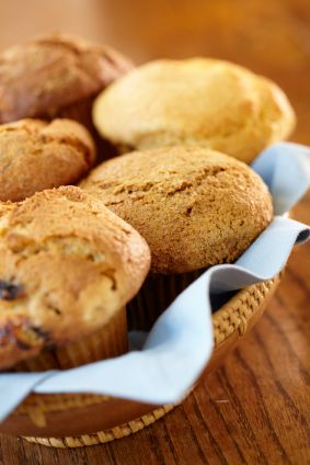 Basic Vegan Muffin Mix, just add whatever you want, fruit, nuts, chocolate, whatever!