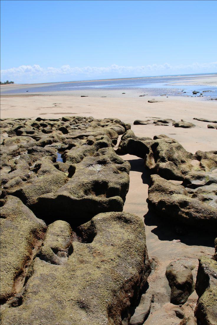 Balgal beach rocks
