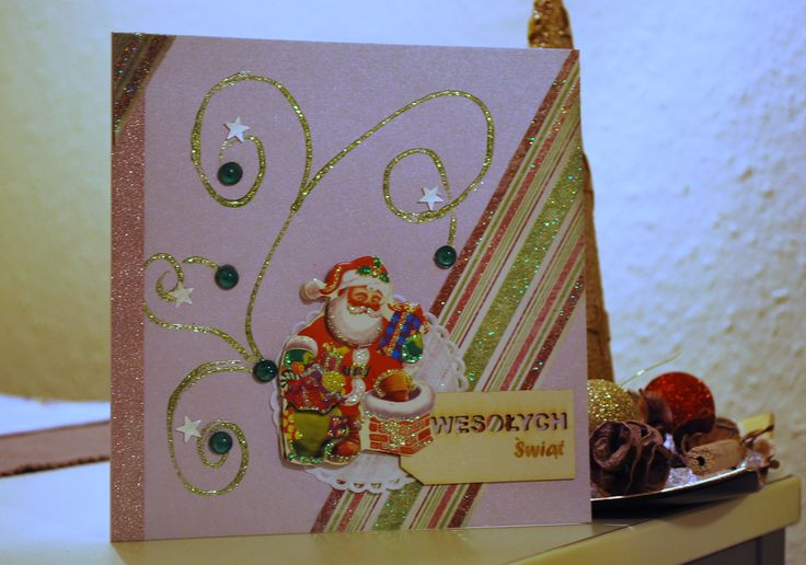 Santa Card for Christmas