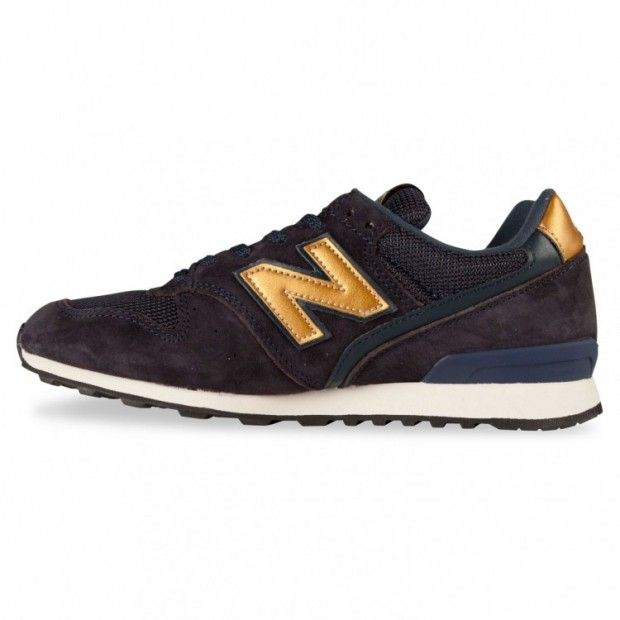 New Balance 996 Bleu Marine Et Or