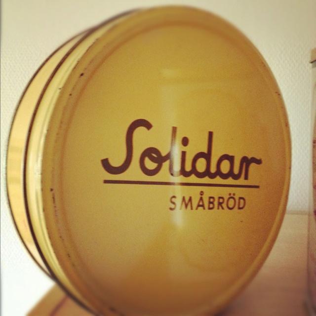 Gammal Solidar-kakburk!