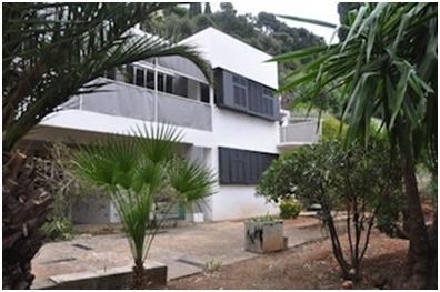 Eileen Grey villa-E1027 Garden Terrace (2012) - as it appears today.