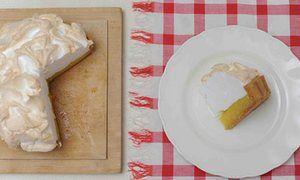 Dan Lepard's lemon meringue pie