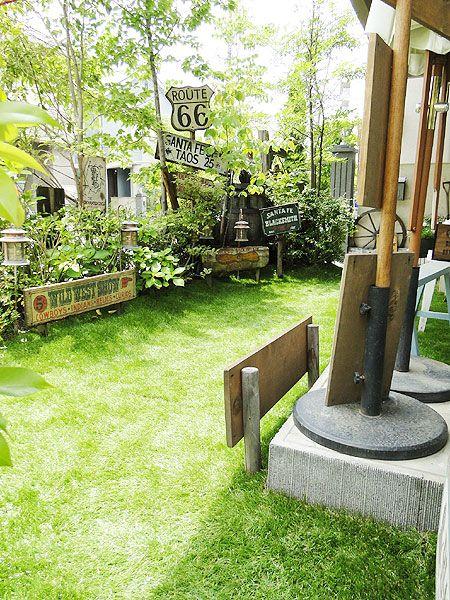 リフォーム実例】自宅の庭に「リアルな人工芝」を敷いて完全リフォーム ... これで庭全体の施工がすべて完了しましたー