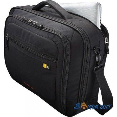 """Case Logic ZLC-216 fekete/piros 16"""" notebook táska"""