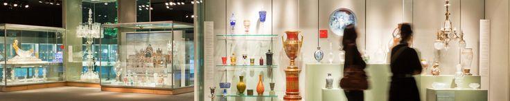 Corning Museum of Glass. NY-esposti 50.000 oggetti di 3500 anni