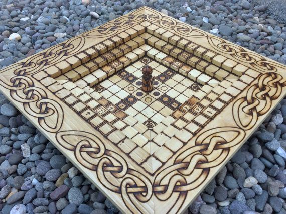 17 best images about hnefatafl tafl on pinterest game of plays and board games - Multi level chess board ...