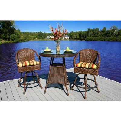 Check this out! Lexington 3 Piece Outdoor Bar Set TO-BAR3 | CozyDays Buy at http://www.cozydays.com/outdoor-furniture/bistro-sets/lexington-3-piece-outdoor-bar-set-3201.html?utm_source=Bar Height