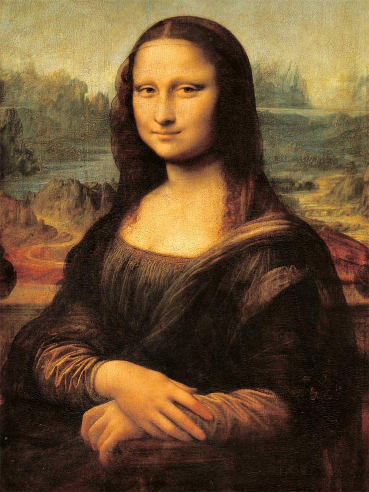 LEONARDO DA VINCI, Gioconda o Monna Lisa, 1503-1506, Parigi, Louvre
