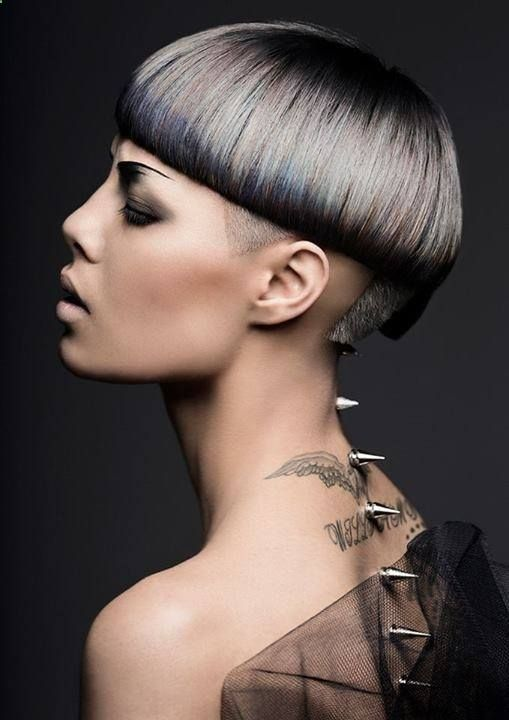 Color finalist for the Wella International Trend Vision Awards, Mana Dave, New Zealand. Trend interpretation: Echo.