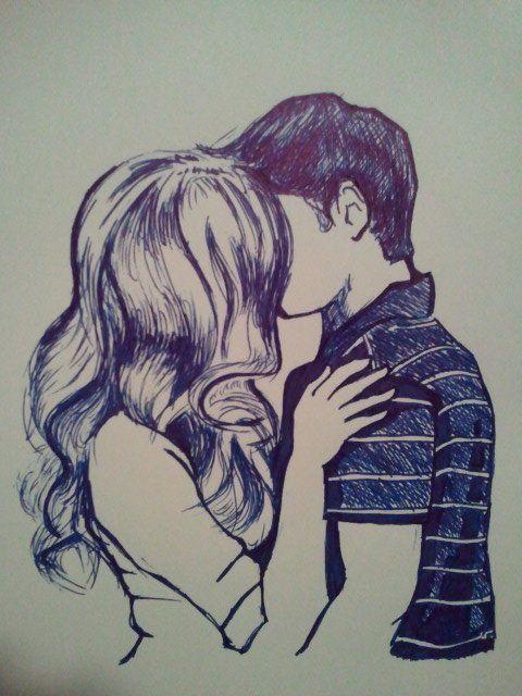 Kiss | Drawing | Sketch