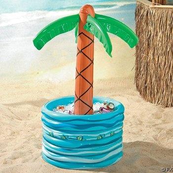 Amazon.com: Inflatable Palm Tree Beer/Soda Cooler: Patio, Lawn & Garden