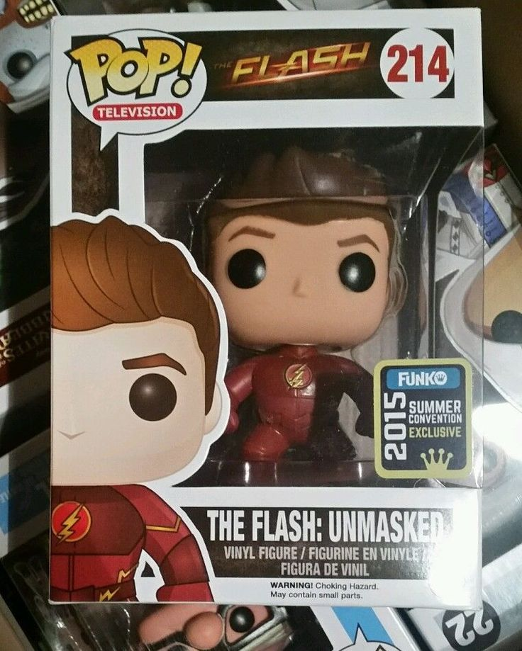 RARE Funko Pop The Flash Unmasked 2015 SDCC Exclusive | eBay