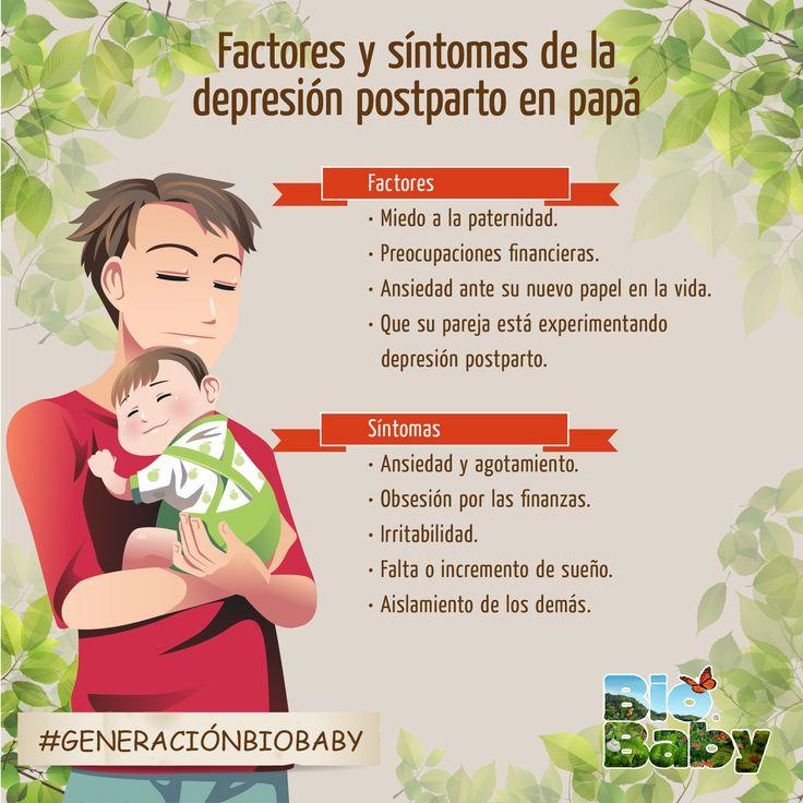 Los papis también pueden llegar a sufrir de depresión post-parto. Conozcan los síntomas y las razones.