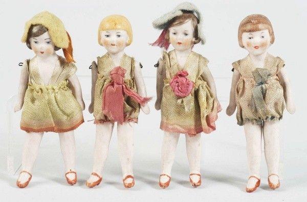All Bisque Flapper Girls