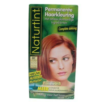 naturtint 8c   Naturtint Haarkleuring Koper Blond 8c
