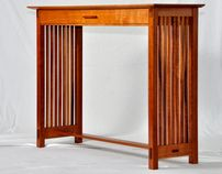 """Check out new work on my @Behance portfolio: """"Cherry Hall Table"""" http://on.be.net/zrSlLL"""
