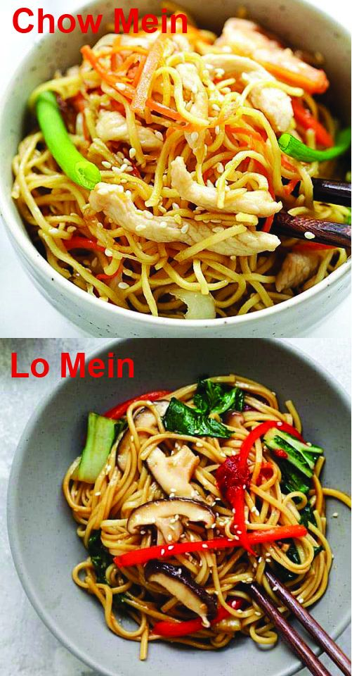 Chow Mein vs Lo Mein (Learn the Differences!) - Rasa ...