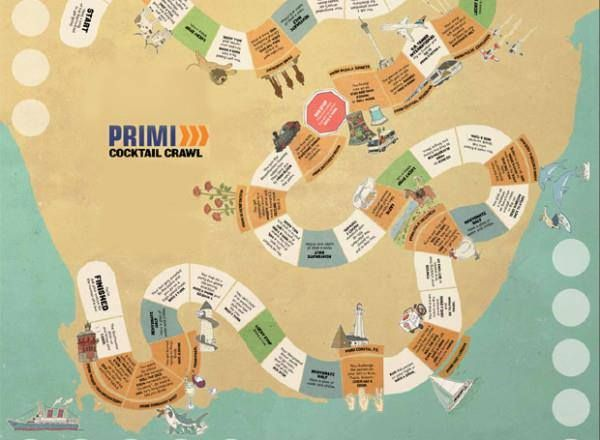 Are you brave enough to play... the new Primi board game: The Primi Cocktail Crawl? Out Soon!!!