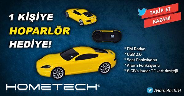 #Hometech'in #değerinibilmeliyiz diyorsan, Saat 23.59'a kadar #RT yap, @HometechTR'yi #TAKİP et hoparlör senin olsun!