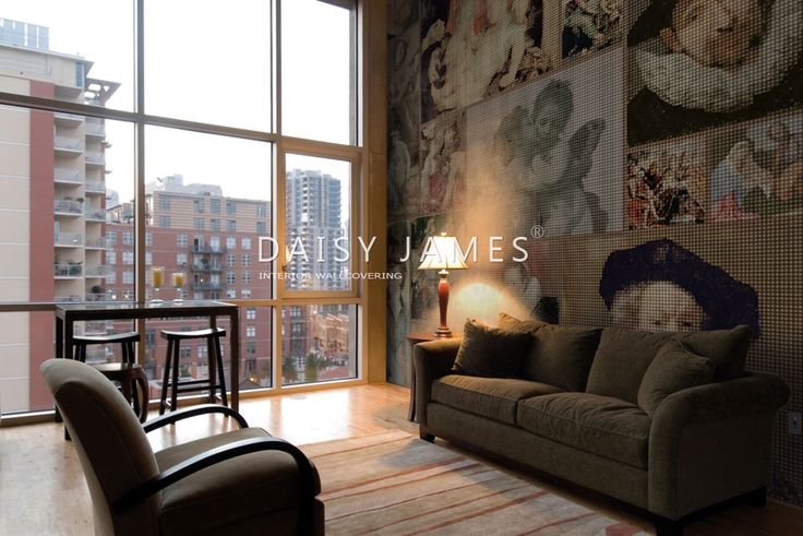DAISY JAMES wallcover Old Stars