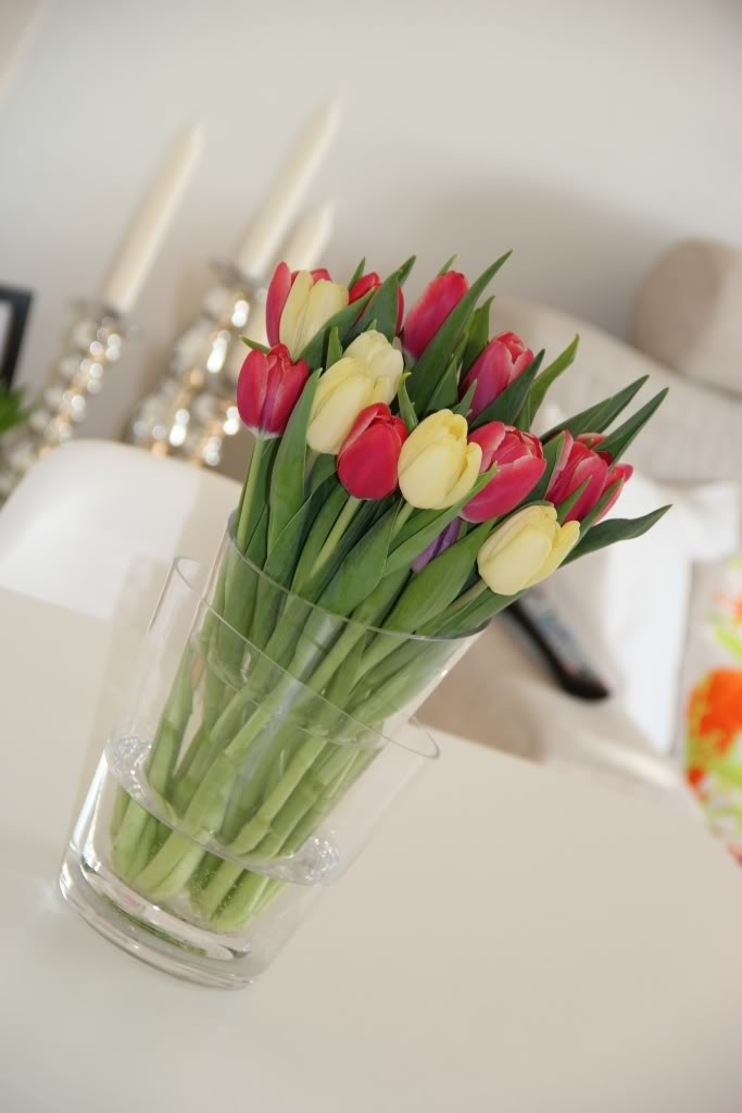 Home sweet home - tulips by blogliebling.dk