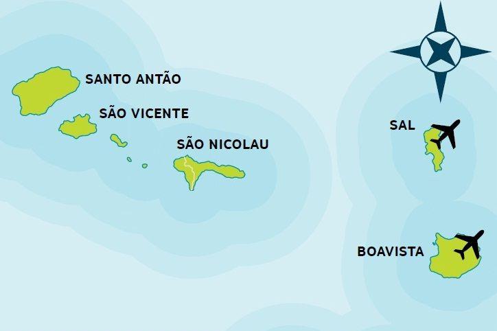 Kap Verde pähkinänkuoressa #finnmatkat