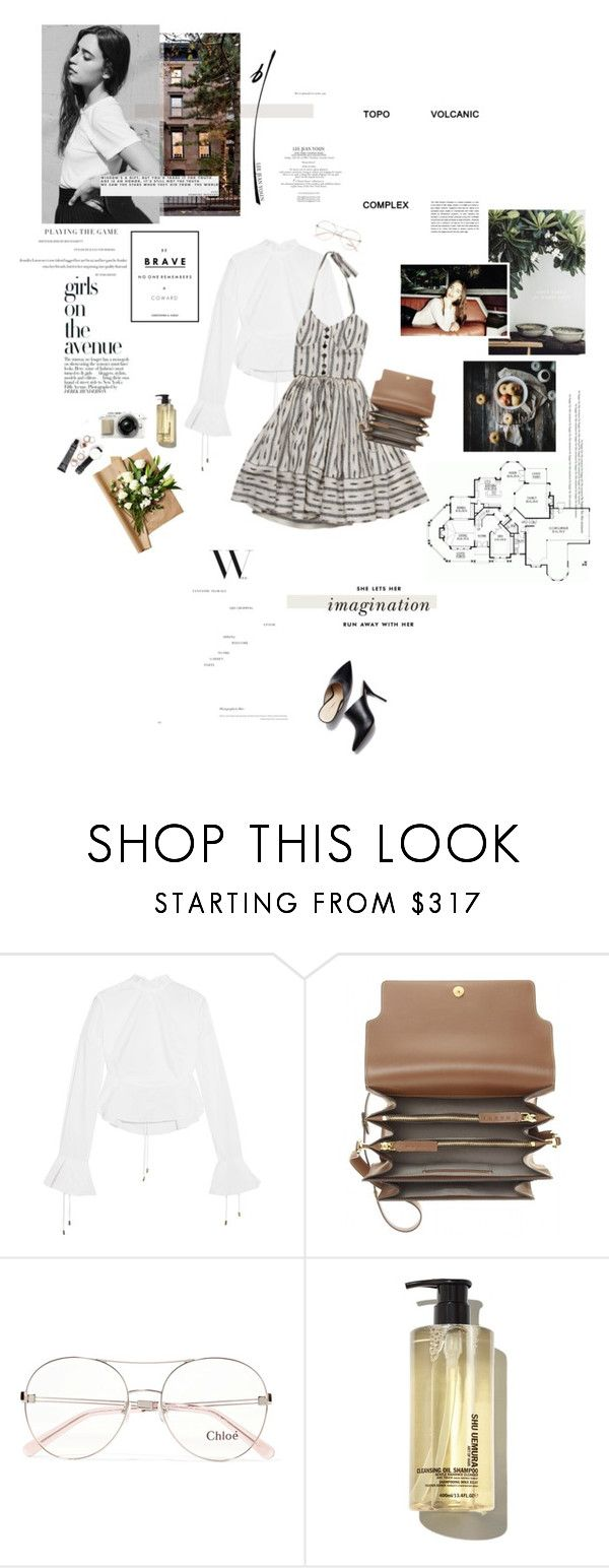"""She lets her imagination run away with her."" by sarahstardom ❤ liked on Polyvore featuring La Vie en Rose, Avenue, Michael Lo Sordo, Samantha Pleet, Marni, Chloé, Daphne and Kate Spade"